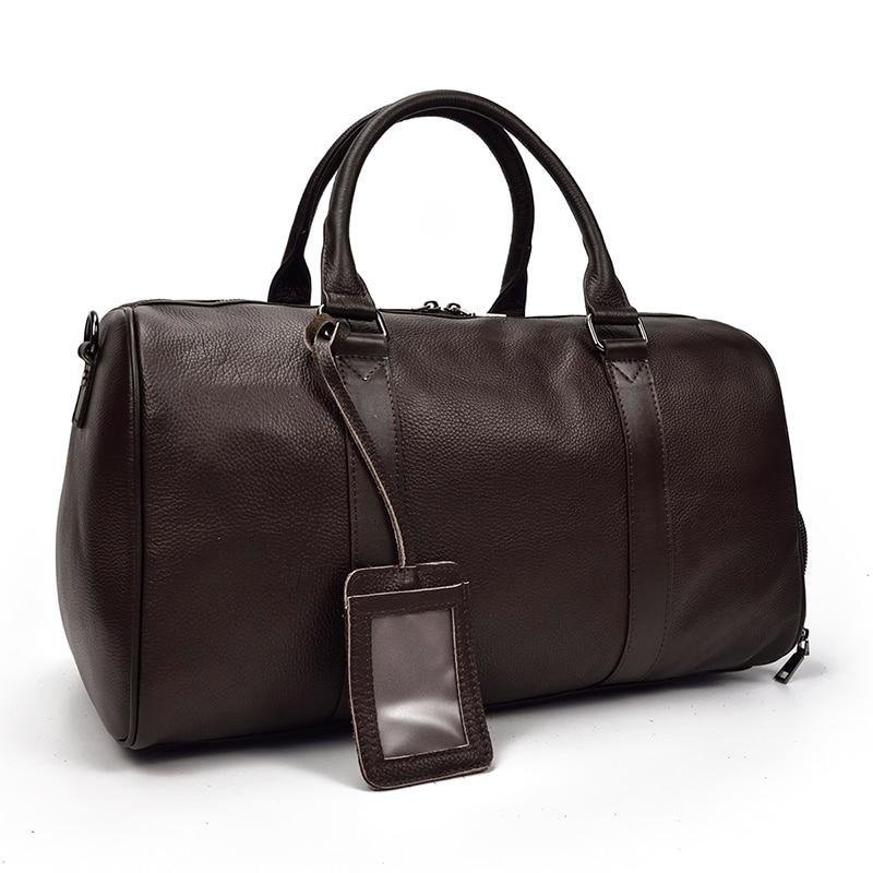 The Endre Weekender | Vintage Leather Duffle Bag