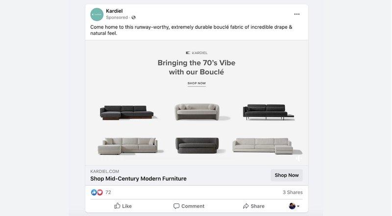 facebook ad kardiel