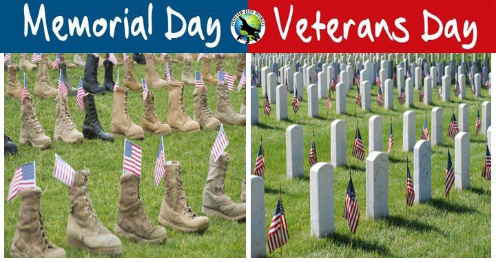 Veterans Day vs Memorial Day: Understanding the Difference