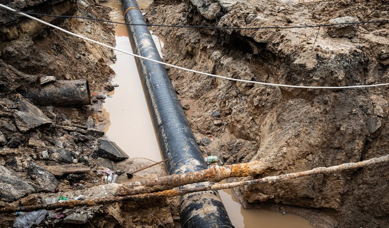 Finding Underground Pipes