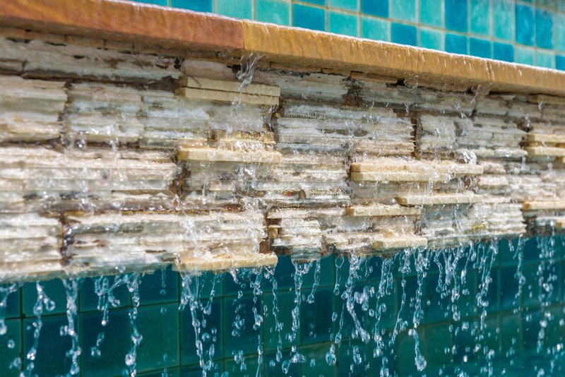 Does A Pool Water Feature Help Reduce Stress?