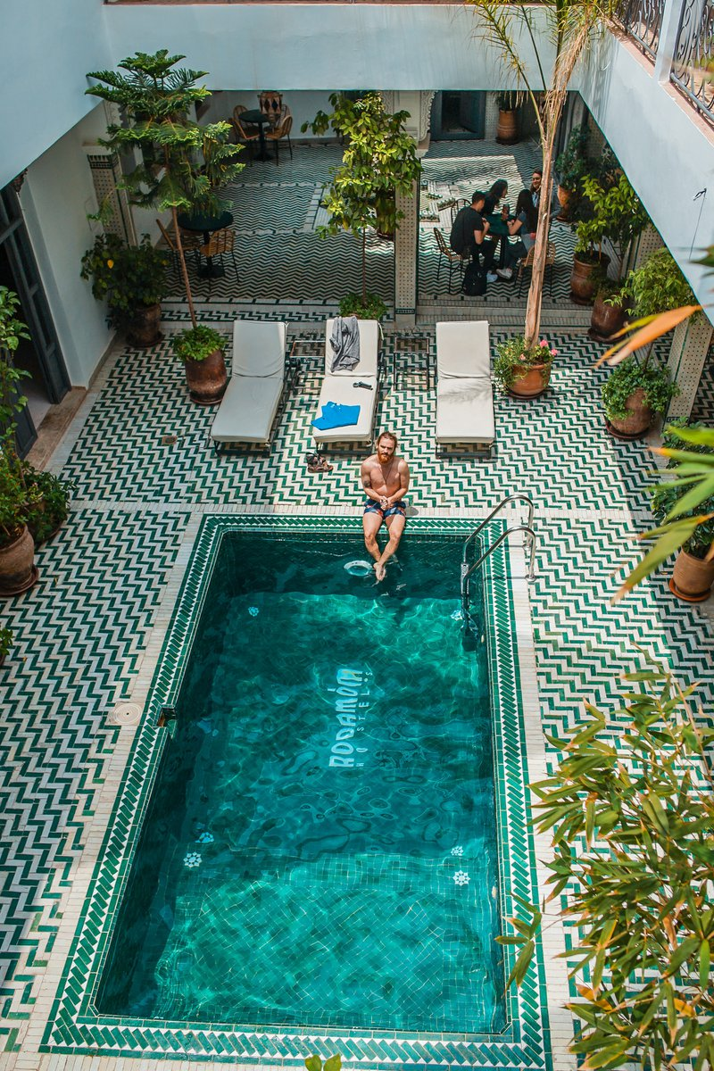 Rodamon Riad has stunning architecture and interior design, such a pleasure spending tDo You Have to Have a Fence Around Your Pool in Texas?wo days here.