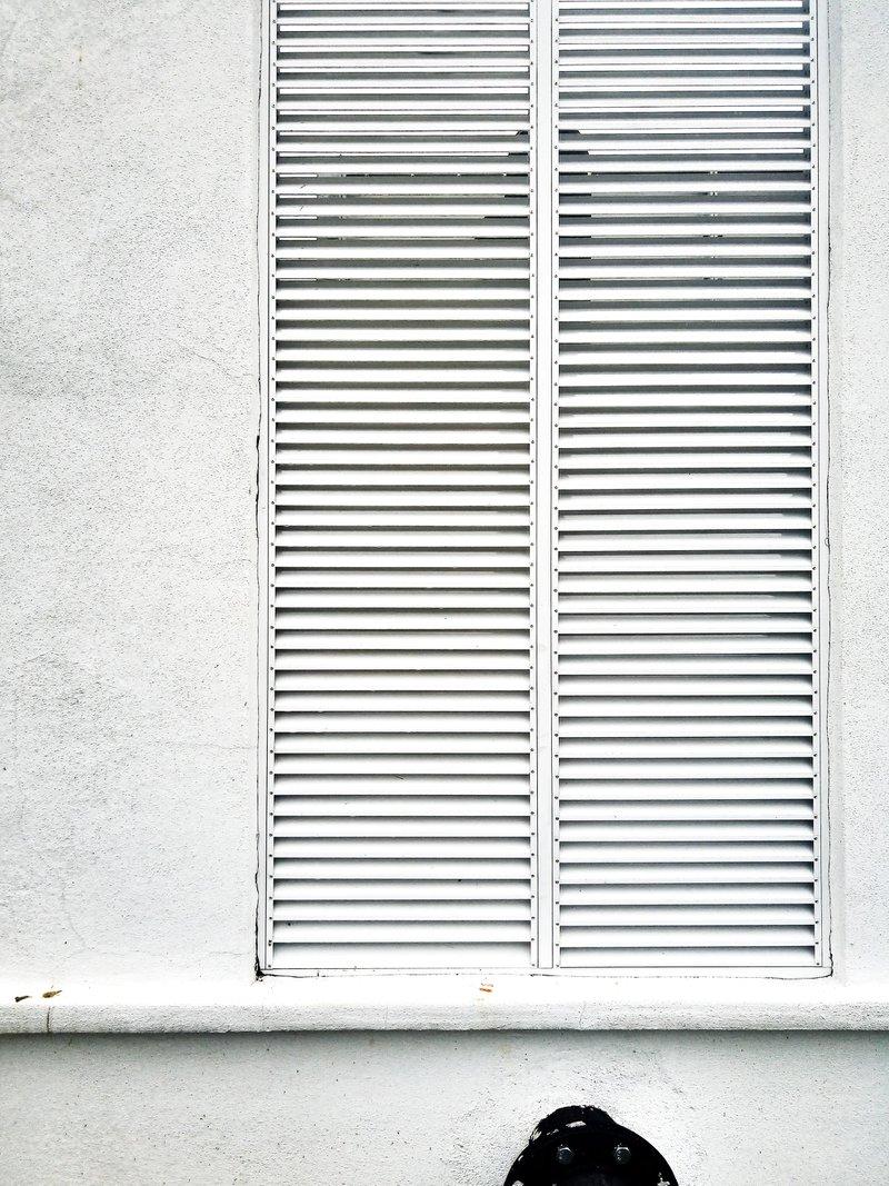 minimal white wall
