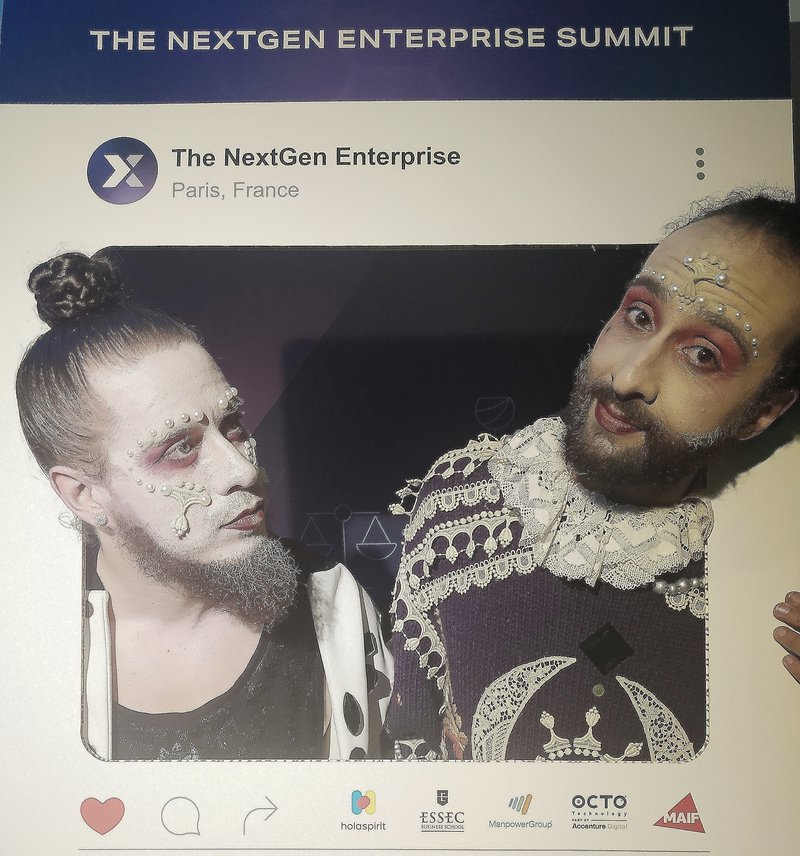 Entertainers at the NextGen Enterprise Summit