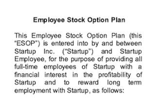 Employee Benefits ESOP