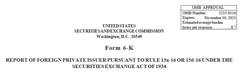Foreign Companies SEC