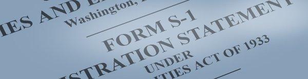 SPACs Form S-1 SEC