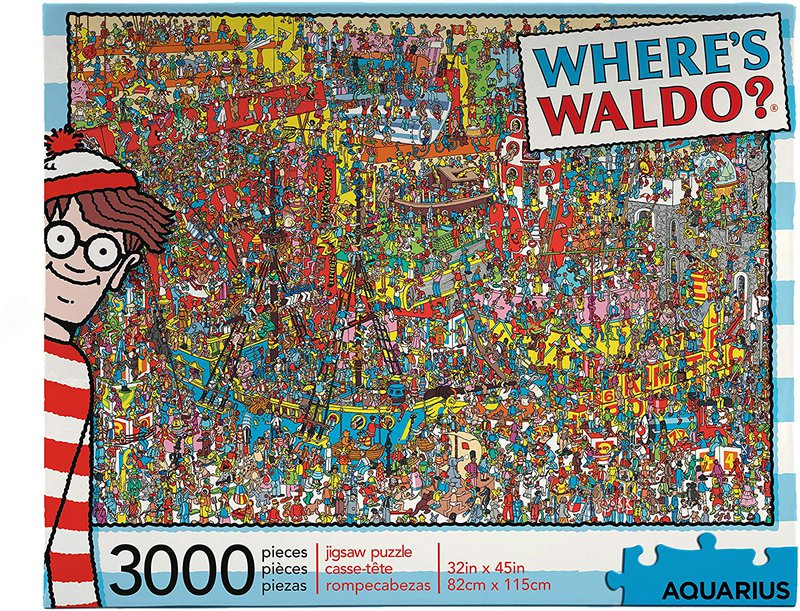 Finding Waldo puzzle