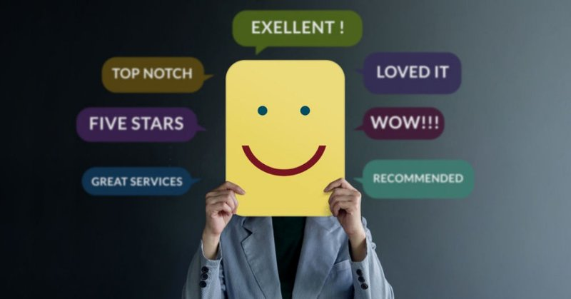 Examples of positive reviews