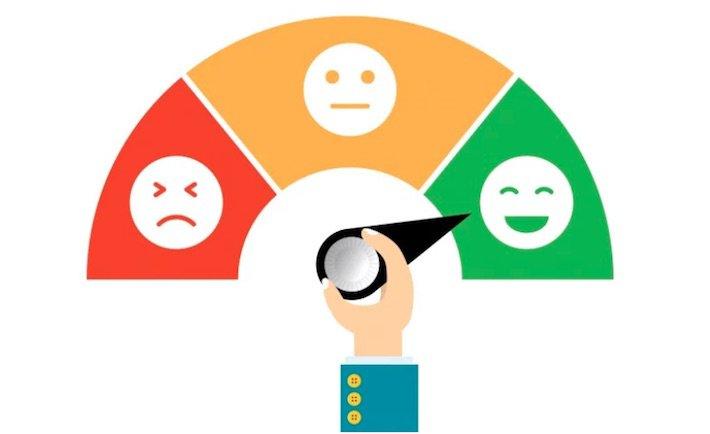 customer satisfaction measured with emojis