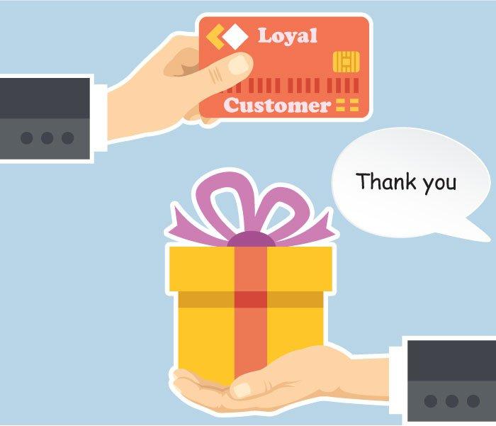 Rewards for loyal customers