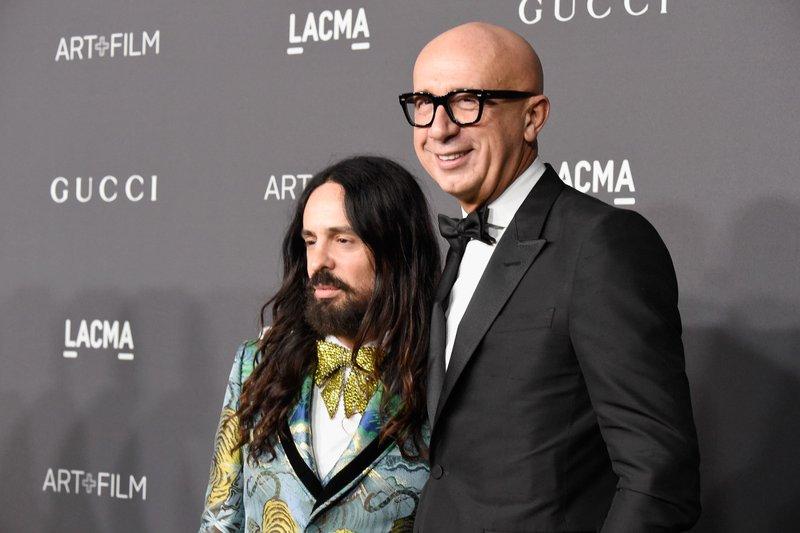 Alessandro Michel with Marco Bizzarri image
