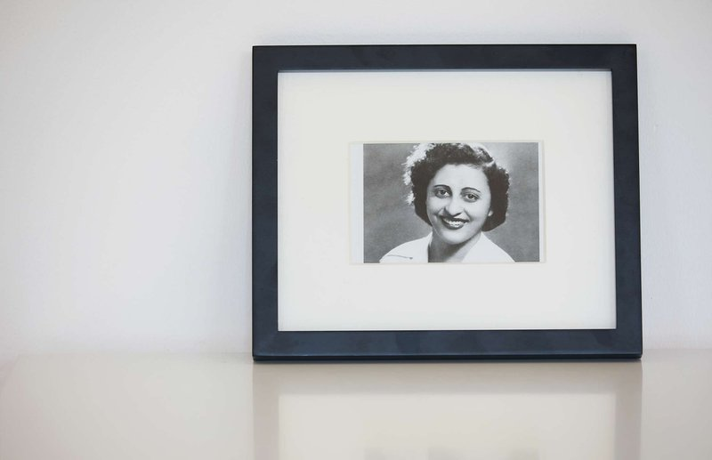 framed photograph black and white - Marcella NYC