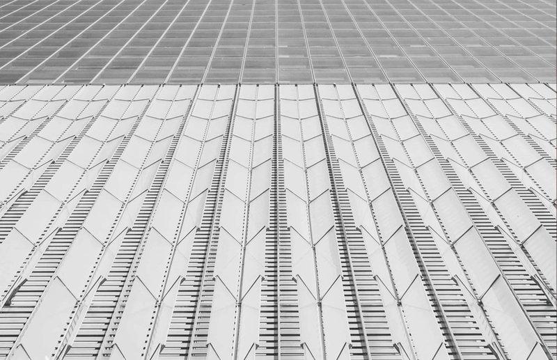 New York geometric architecture - Marcella NYC