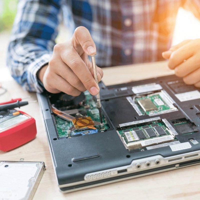 Hardware computadora laptop
