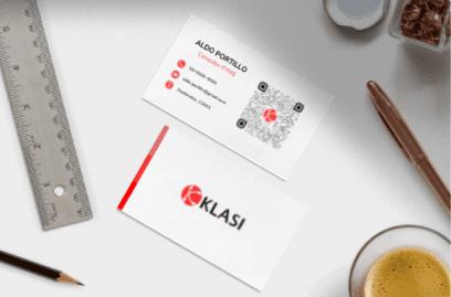 Tarjeta de presentación Klasi Premium