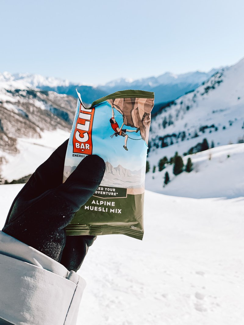nutrition for skiers clif bar