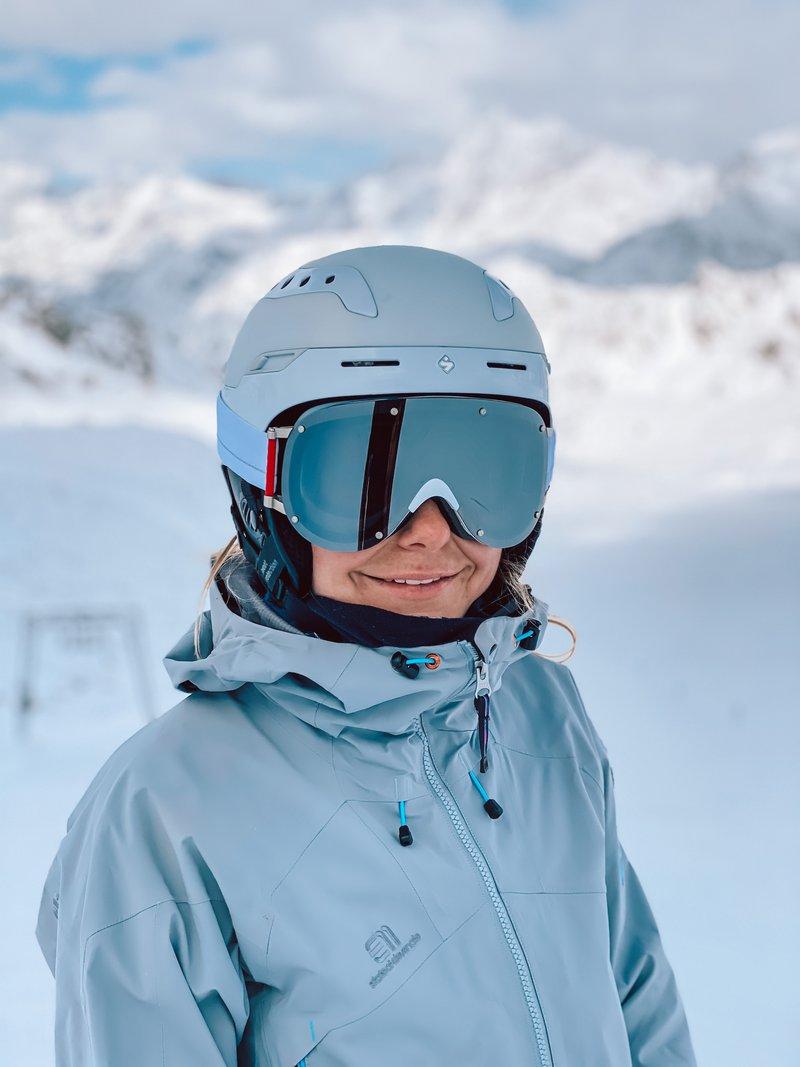 first time skiing of the season at Kaunertaler Gletscher