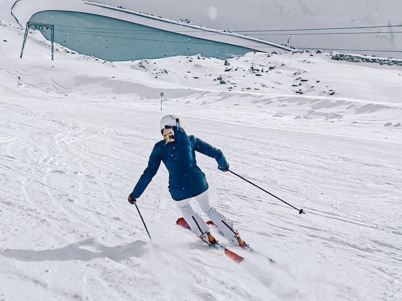 improve skiing with Nina