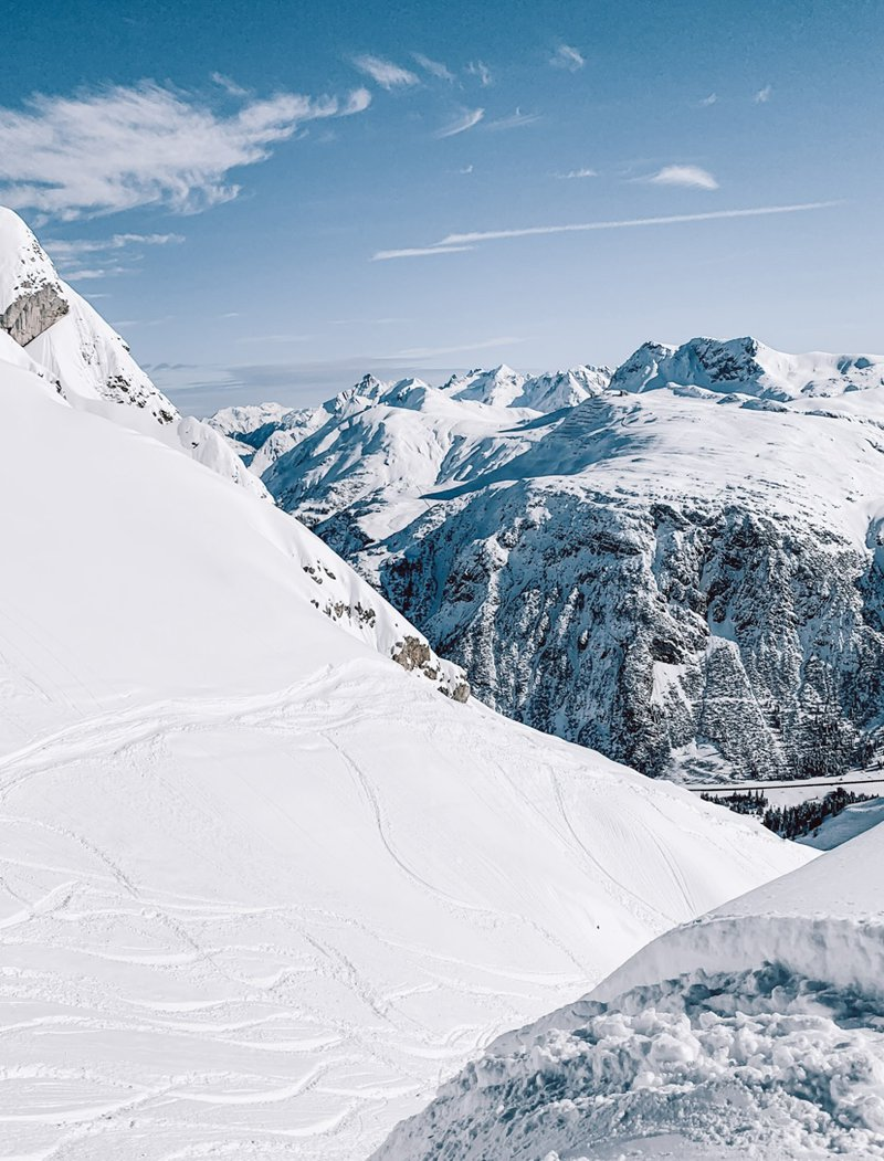 Plan the perfect ski tour choosing the perfect route