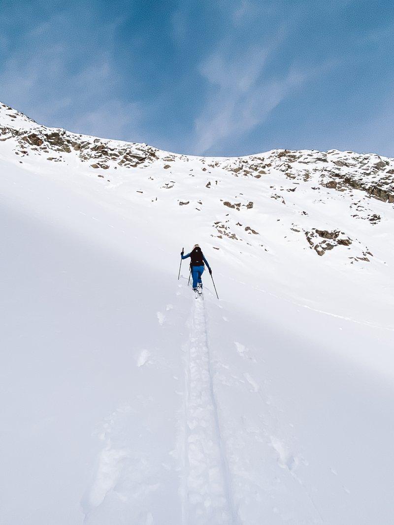 ski touring Ötztal Alps