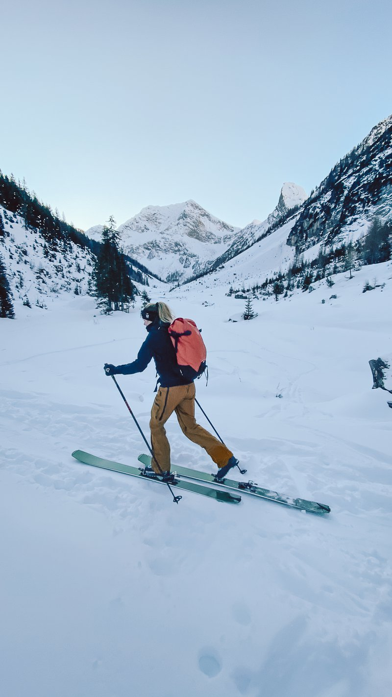 ski touring in the Lechtal Alps