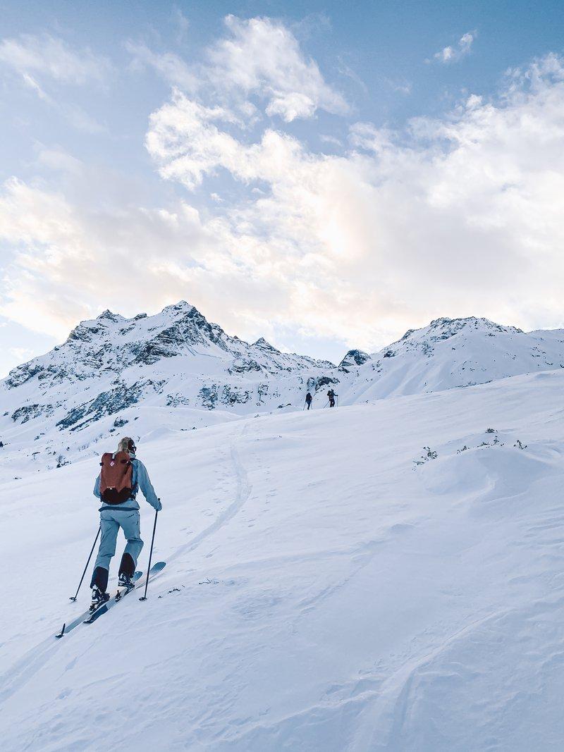 ski touring Silvretta
