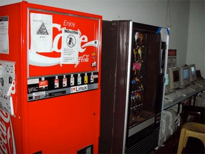 Coca Cola machine CMU