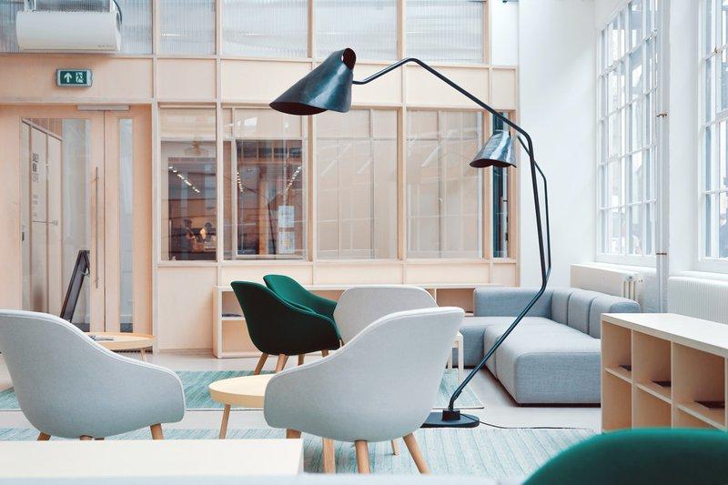 clean open workspace