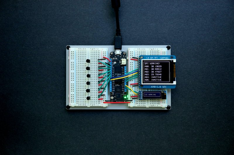 Micro QA board for Analog