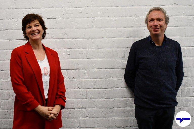 Gina Peeters en Bert De Vroey