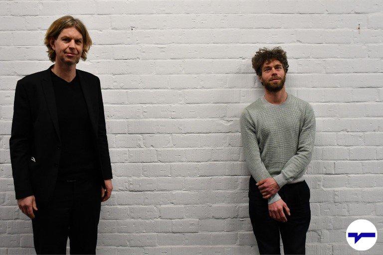 Karel Verhoeven en Ruben Mersch