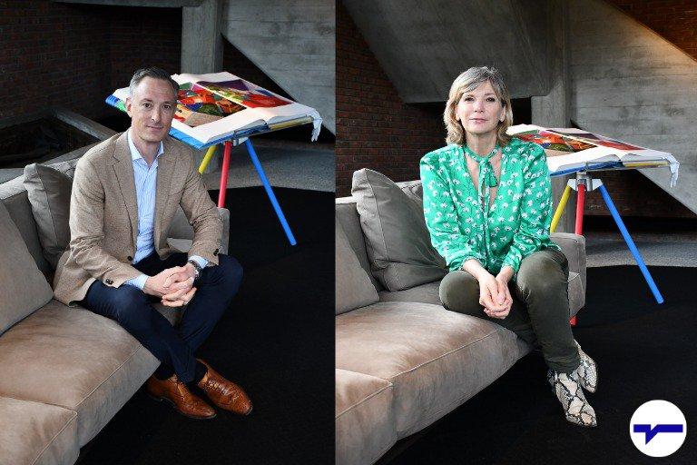 Peter De Keyzer en Lynn Wesenbeek