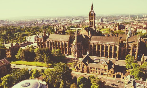 Best student city in the UK University of Glasgow