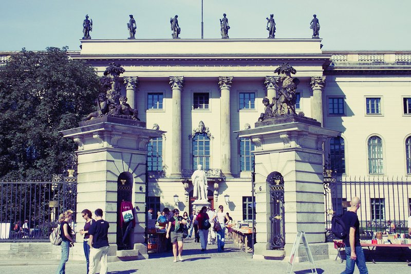 Famous University in Berlin Humboldt University
