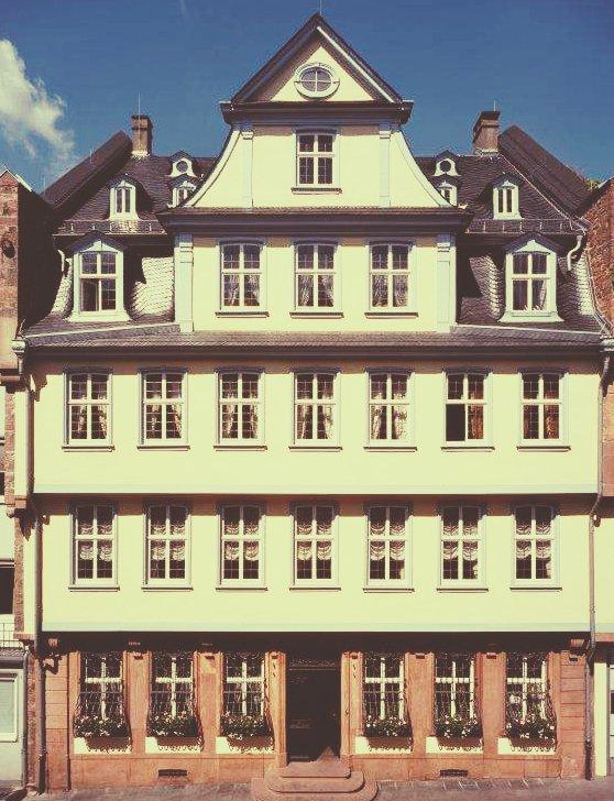 Goethe House in Frankfurt German Best student city