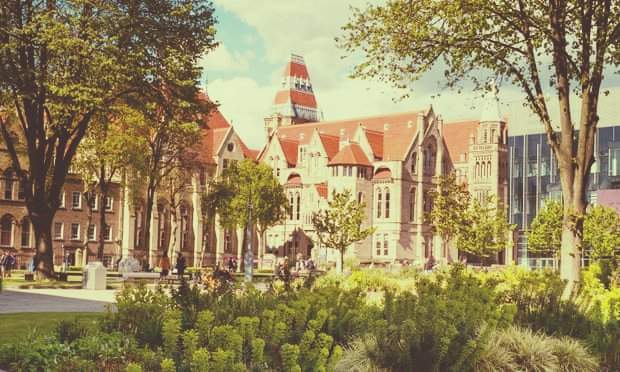 University of Manchester in the best student city in the UK