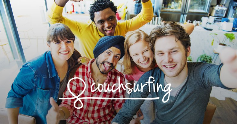 Apps to find travel friends - Couchsurfing