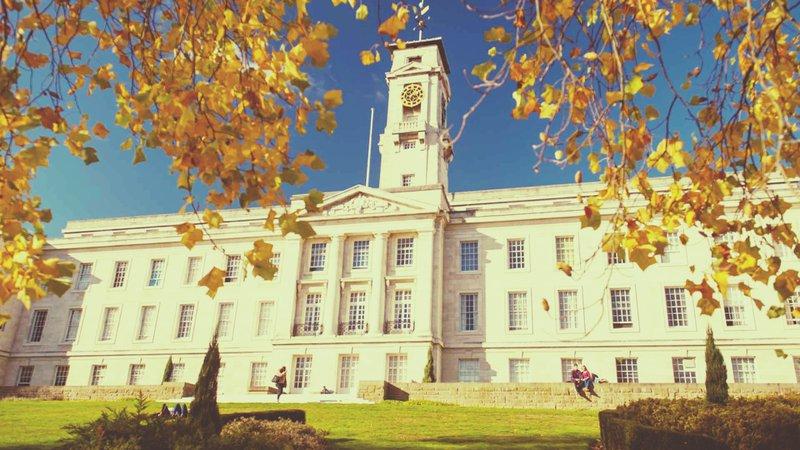 The university of Nottingham in the best student city UK