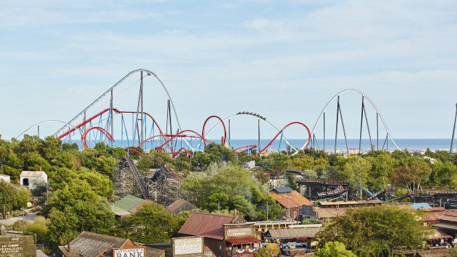 things to do in Barcelona with kids - Port Aventure Theme Park