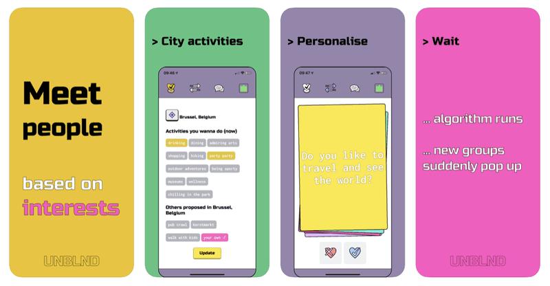 UNBLND - App to make friends