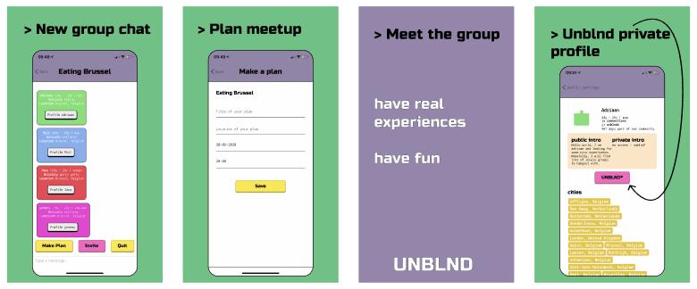 Social Network - UNBLND