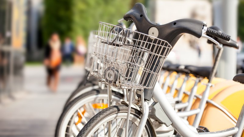 Student life with COVID-19 restrictions - renting bikes