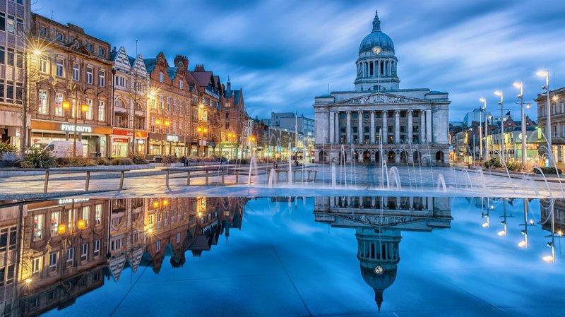 Best student city Nottingham
