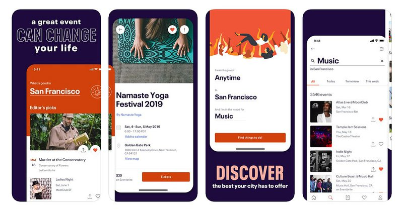 Alternatives to Meetup - Eventbrite
