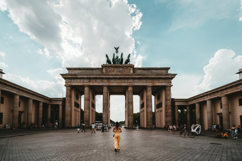 Best student city Berlin with historical places