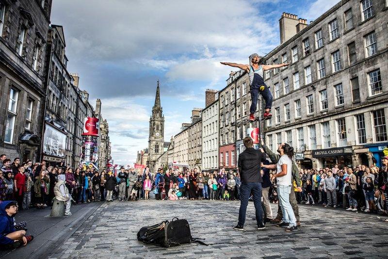 Best student city Edinburgh festival fringe