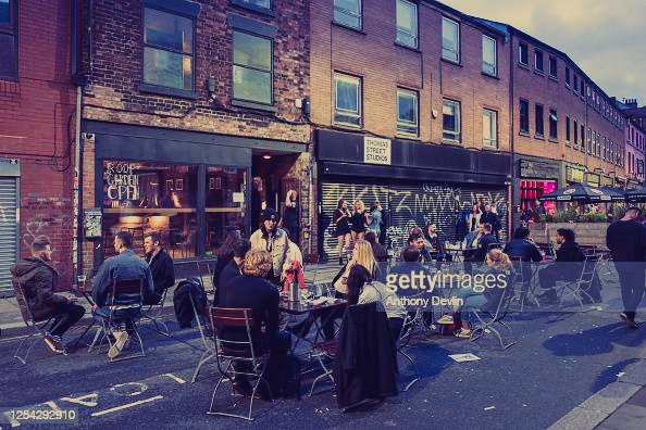 The nothern Quarter the best student city Manchester