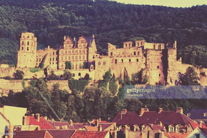 Heidelberg Palace in the best German student city