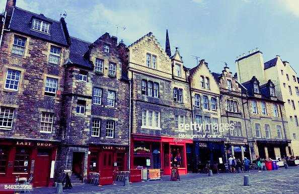 Best student city in the UK Edinburgh Old Town